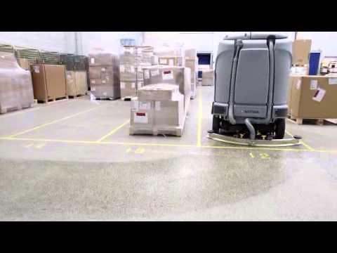 Industrial Scrubber Dryers