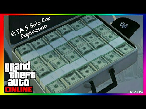 *VERY EASY* GTA 5 Online CAR DUPLICATION MONEY GLITCH 1.46 SOLO GTA 5 Money Glitch Car Dupe GTA V
