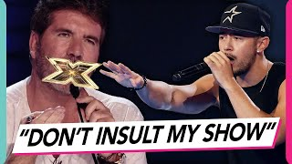 Simon Cowell Locks Horns With Contestant Mason Noise! When Judges Get Angry!