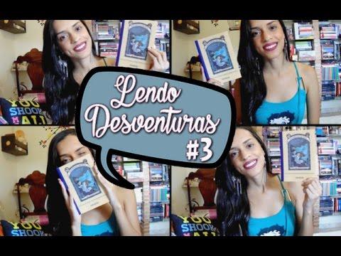 DESVENTURAS EM SÉRIE #3 - O LAGO DAS SANGUESSUGAS, de Lemony Snicket