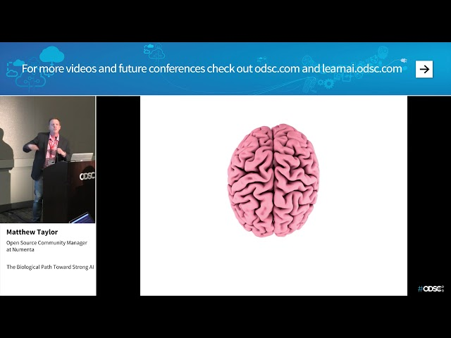 ODSC West 2017: The Biological Path Toward Strong AI