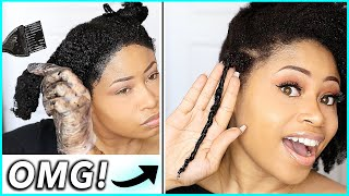 Coloring Natural Hair...CAN'T BELIEVE THIS HAPPENED!