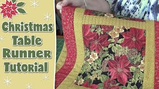 Christmas Table Runner - Quilting Tutorial