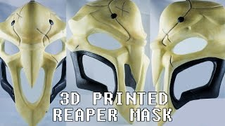Reaper Mask 3D Printed from Overwatch