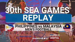 SEA Games 2019: Philippines vs Malaysia (Men's Football) Replay