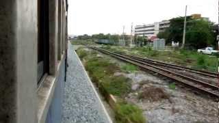 preview picture of video 'タイ国鉄東線サッタヒープ支線車窓 ペートリウ~チャチュンサオ'