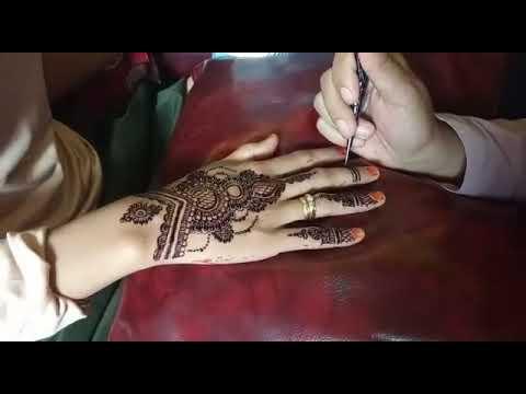 Henna Tangan Cantik Simple Dan Sederhana Untuk Pemula Jose Aaron