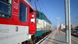 preview picture of video '15 Carrozze Tedesche in arrivo a Roma Termini dal Parco Prenestino con E656.093 che le spinge!'