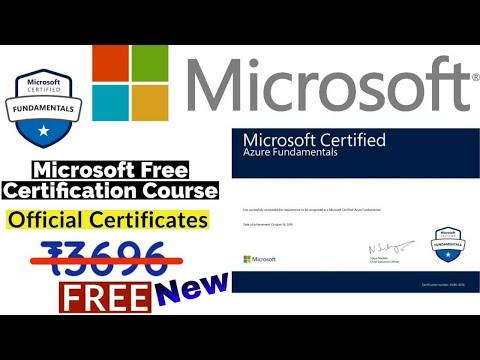 Microsoft Free Certification Courses   Free Microsoft Azure ...