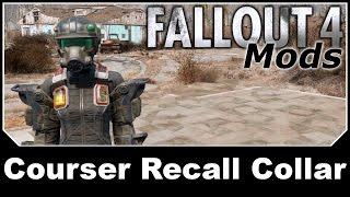 Fallout 4 Mods - CROSS Courser Recall Collar