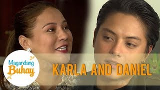 Daniel says that he walked out when they talked about Momshie Karla's love life | Magandang Buhay