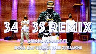 Ariana Grande - 34+35 Remix ft. Doja Cat, Megan Thee Stallion