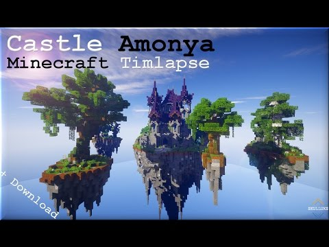 minecraft fantasy castle map download
