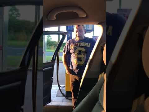 Father leaves his son in the car and regrets it as he comes back.
