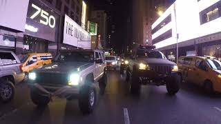 NYC Jeep night run
