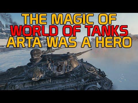 The Magic of World of Tanks aka Arta was a hero!