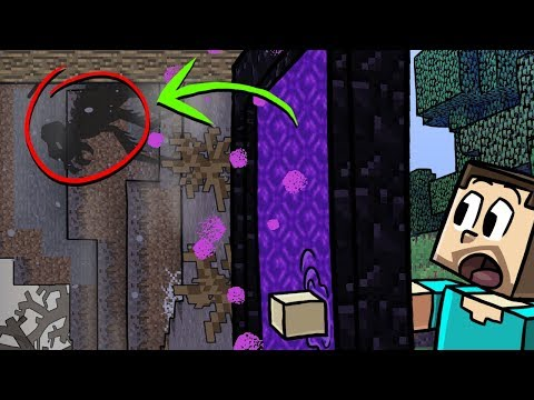 Minecraft | SECRET MONSTERS IN THE VOID? (How to Live in the Void Dimension)