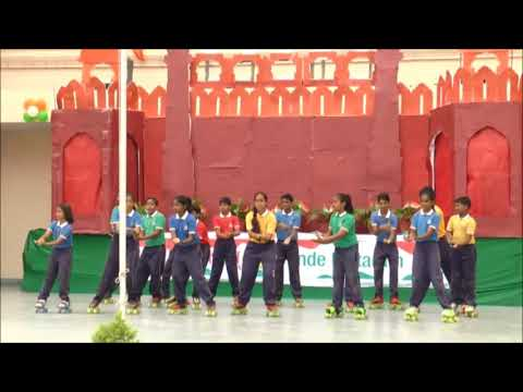 || DEEPA MALIK IN PRESIDENCY SCHOOL || SKATING DANCE BY PRESIDENCY STUDENTS ||
