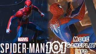 Spider-Man PS4: 101 - MORE Gameplay Info!!! EXTENSIVE Collectibles, NO Hero Cameos, & More!!!