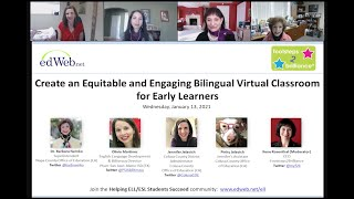 CREATE AN EQUITABLE AND ENGAGING BILINGUAL VIRTUAL CLASSROOM FOR EARLY LEARNERS