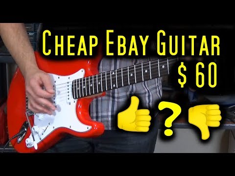 Electric Guitar (Vision) for $60 – is it worth it?