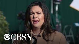 Sarah Huckabee Sanders interviewed by special counsel Robert Mueller