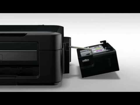 Instalação das impressoras Tanque de Tinta