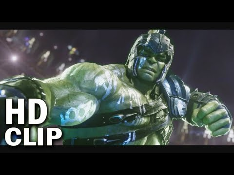 "Hulk did ""Puny God"" Scene with Thor In Thor Ragnarok 