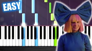 LSD   Thunderclouds Ft. Sia, Diplo, Labrinth   EASY Piano Tutorial By PlutaX