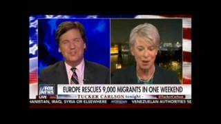 Tucker Carlson Tonight Exploits Paris Terror Attack to Plug Marine Le Pen
