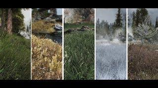 Skyrim SE - Grass Mods: Lightweight Grass Overhaul & Voluptuous Grasses