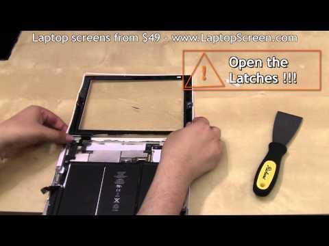 iPad 2 screen replacement, iPad 2 digitizer replacement / repair / guide