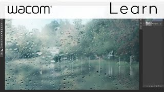 How to Write on a Foggy Window in Photoshop with a Wacom Tablet