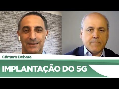 Deputados discutem implantação do 5G no país - 26/06/20