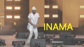 Fally Ipupa Akicheza INAMA Live Kwenye StejiDiamond Platnumz Ft Fally Ipupa   Inama