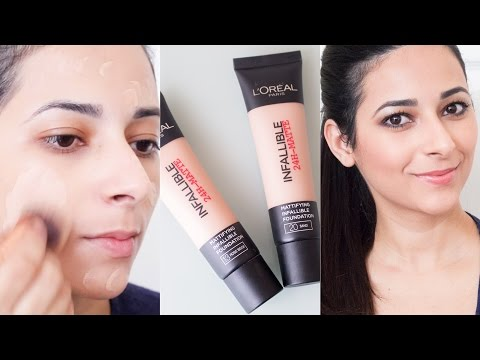 L'Oreal Infallible Matte Foundation First Impressions Review   Ysis Lorenna