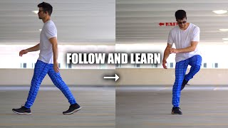 Learn to Dance at Party Fast - Turn Walking into Shuffling 3asy