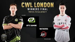Optic Gaming vs 100 Thieves | CWL London 2019 | Day 3