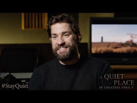 A Quiet Place Featurette 'Director John Krasinski'