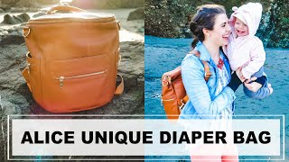 ALICE UNIQUE DIAPER BAG REVIEW