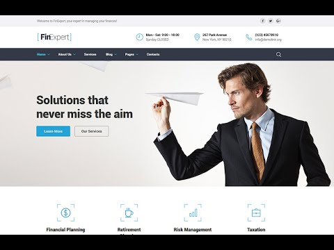 mp4 Finance Website Template, download Finance Website Template video klip Finance Website Template