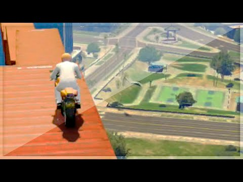 Insane Bike Stunting Parkour (GTA 5 Funny Moments)