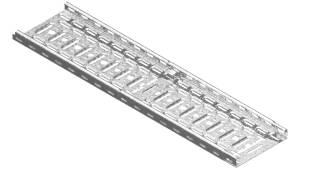 Vergokan kabelgoten - cable trays - Kabelrinnen - KBSI 35 + KBV