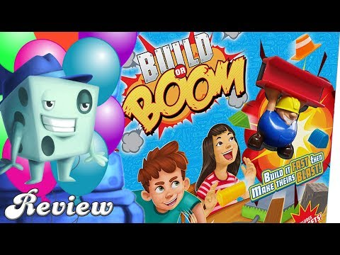 Build or BOOM Review - with Tom Vasel