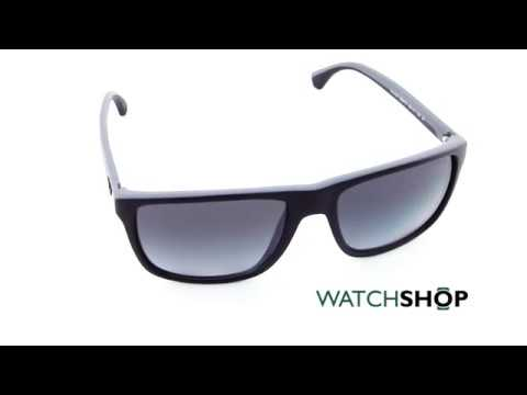 3b9e3c5fa4b Emporio Armani EA4033 5229T3 (black-grey rubber polar grey gradient) Video