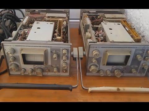 Сравнение двух измерителей Р5 10 1984 и 1991 годов выпуска