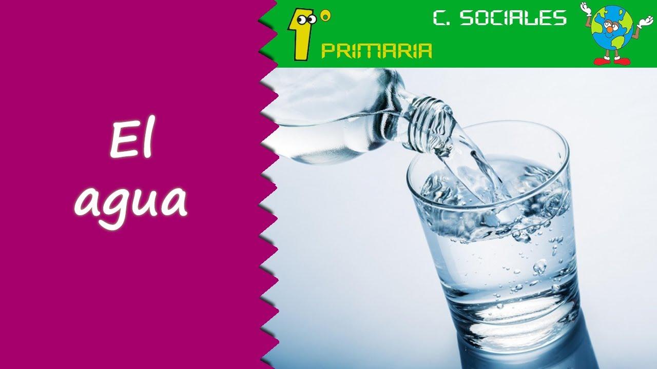 Ciencias Sociales. 1º Primaria. Tema 6: El agua