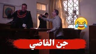 اول مجرم بالعالم بجنن القاضي وبدخلو عالسجن كمان  ـ شو رأيكم؟ ـ بقعة ضوء