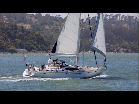 Oyster 56 Center Cockpit Cutter video
