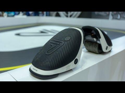 Ausprobiert: Elektro-Rollschuhe Segway Drift W1